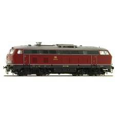 32020 ESU Diesellok H0 AC BR215-010 oud rood Sound + Rook