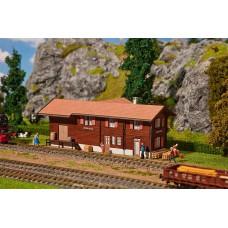 190056 Faller Station Stugl-Stuls Lasercut Exclusief Zwitserland