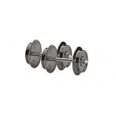 40195 H0 Roco wielstel wisselstroom 9 mm, 2 stuks