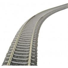 6109 Fleischmann Flexibele rail met betonbielsen 800 mm