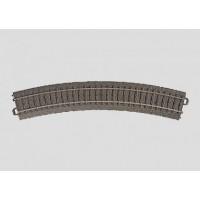 24230 Marklin Gebogen rail R2 = 437,5 mm / 30°