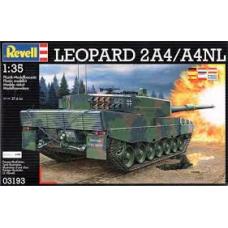 03193 Revell Leopard 2 2A4/A4NL NL 1:35