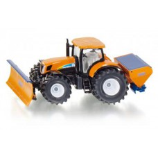 2940 Siku Tractor met sneeuwruimer en strooi-inrichting 1:50