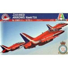 1303 Italeri Straaljager Royal Air Force RED ARROWS Hawk T1A