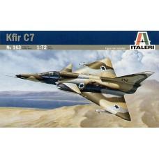 163 Italeri Straaljager Kfir C7