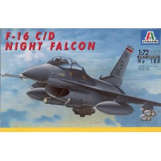 188 Italeri Straaljager F-16 C/D Night Falcon