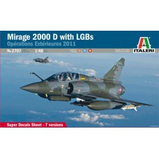 2707 Italeri Straaljager Mirage 2000 D With LGBs