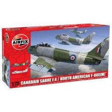 3083 AirFix CANADAIR SABRE F.4 / NORTH AMERICAN F-86E(M)