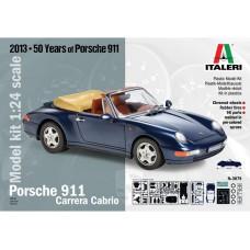 3679 Italeri Porsche 911 Carrera Cabrio