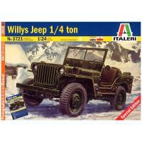 3721 Italeri Willys Jeep 1/4 Ton