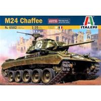 6502 Italeri Tank M24 Chaffee