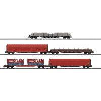 47031 5-delige set goederenwagens DB Schenker AG (RESERVEREN MOGELIJK)
