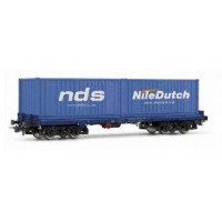 """6124 Rivarossi containerwagon ACTS NDS """"Nile Dutch"""""""
